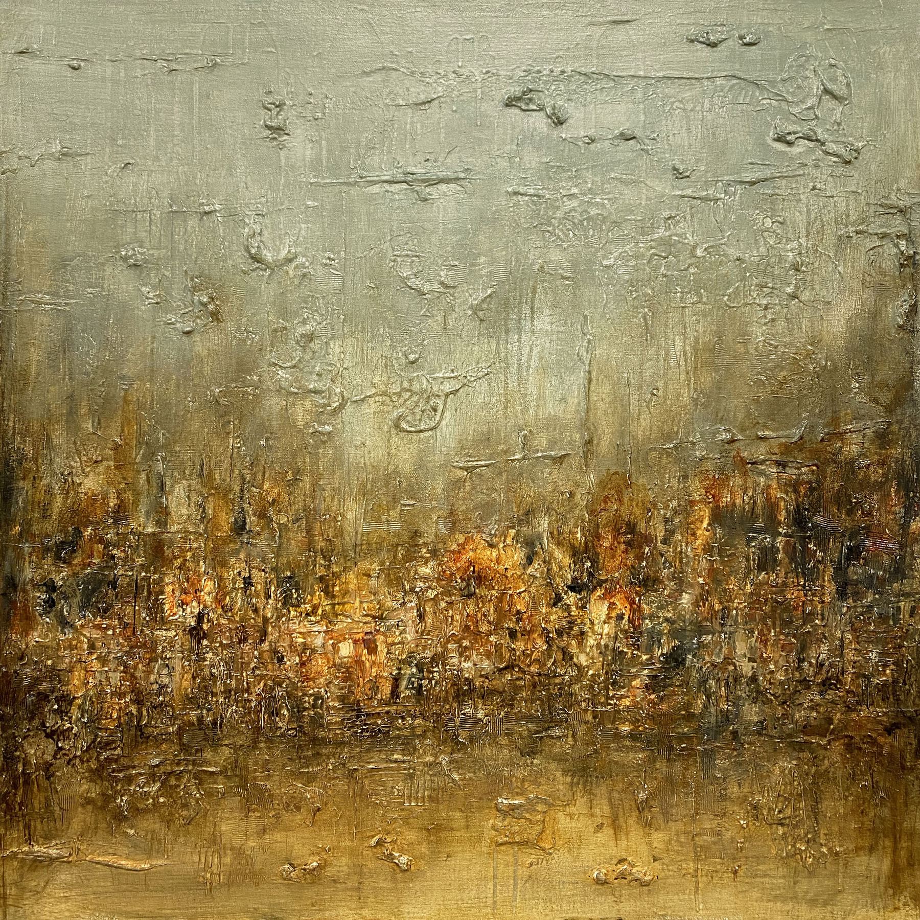 Reconsidered No. 25 | 36 x 36 | SOLD