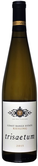 2015 Coast Range Estate Riesling