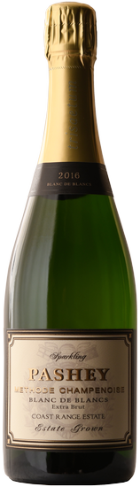 2016 Pashey Blanc de Blancs Coast Range Estate