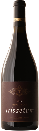2016 Trisaetum Willamette Valley Pinot Noir