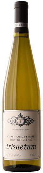 2017 Coast Range Estate Dry Riesling
